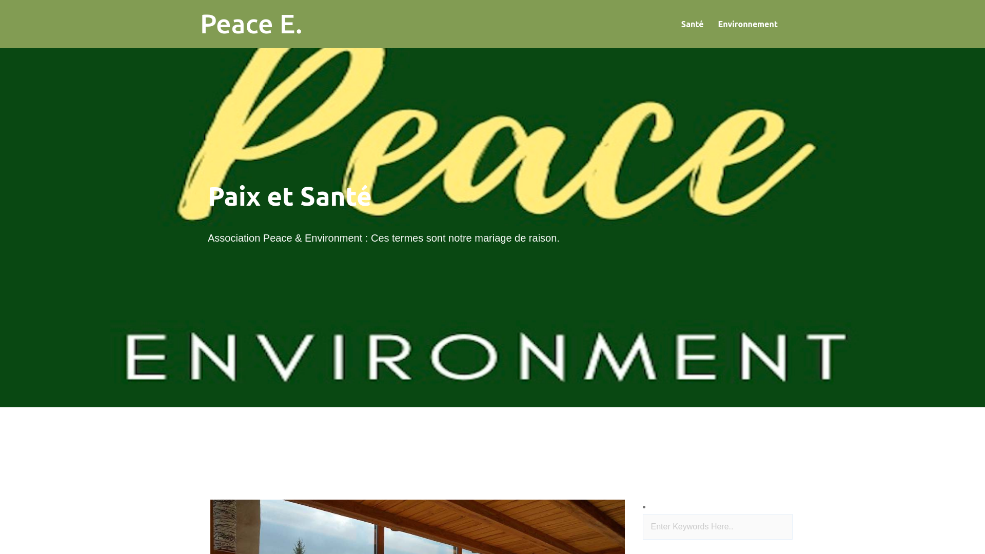 peacenvironment.net